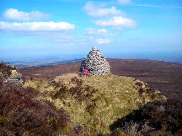 The Stoney Man - Ridge of Capard - Slieve Bloom Mountains